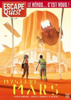 MYSTÈRE SUR MARS (FRENCH) -  ESCAPE QUEST 9