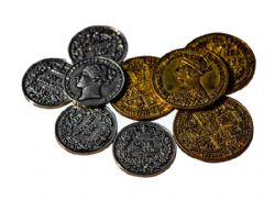NANTY NARKING -  VICTORIAN METAL COINS SET