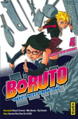 NARUTO -  -NOVEL- (FRENCH V.) -  BORUTO, NARUTO NEXT GENERATION 04