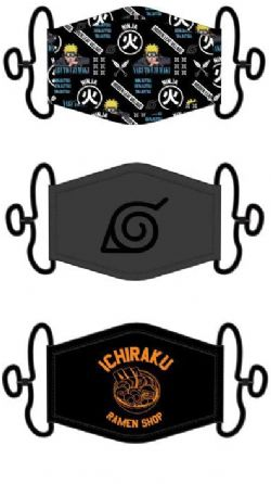 NARUTO -  3 PACKS FACE MASK -  RAMEN SHOP