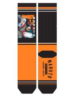 NARUTO & JIRAYA -  MENPAIR SOCKS - BLACK/ORANGE -  SHIPPUDEN