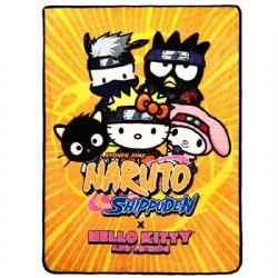 NARUTO -  NARUTO X SANRIO DIGITAL PRINT THROW
