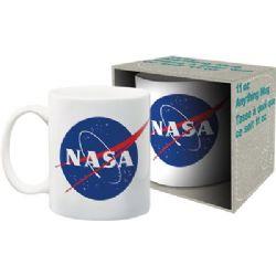 NASA -  MODERN LOGO MUG (11 OZ) - WHITE