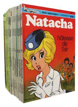 NATACHA -  BD USAGÉS TOME 01 À 21 (SANS 02 + SPÉCIAL 20E ANNIVERSAIRE)