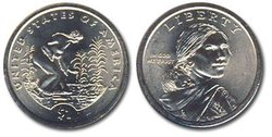 NATIVE AMERICAN 1 DOLLAR -  2009