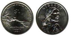 NATIVE AMERICAN 1 DOLLAR -  2011
