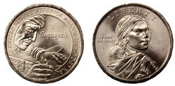 NATIVE AMERICAN 1 DOLLAR -  2017