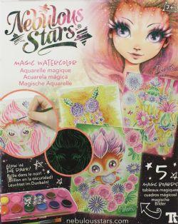 NEBULOUS STARS -  MAGIC WATERCOLOR - PETULIA