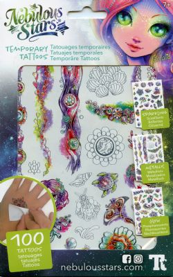 NEBULOUS STARS -  TEMPORARY TATTOOS - CORALIA