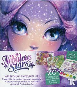 NEBULOUS STARS -  WATERCOLOR POSTCARD SET - NEBULIA