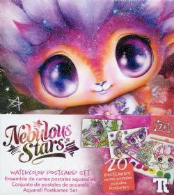 NEBULOUS STARS -  WATERCOLOR POSTCARD SET - PETULIA