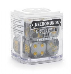 NECROMUNDA -  ENFORCER PATROL DICE SET