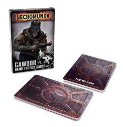NECROMUNDA -  GANG TACTICS CARDS (ENGLISH) -  CAWDOR GANG
