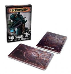 NECROMUNDA -  VAN SAAR GANG TACTICS CARDS (ENGLISH)
