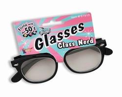 NERD -  CLASS NERD GLASSES - BLACK/CLEAR