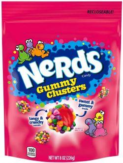 NERDS -  GUMMY CLUSTERS- 8OZ