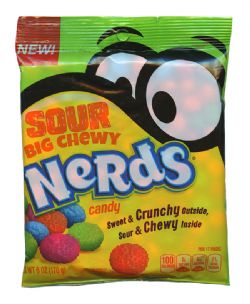 NERDS -  SOUR BIG CHEWY (6 OZ)