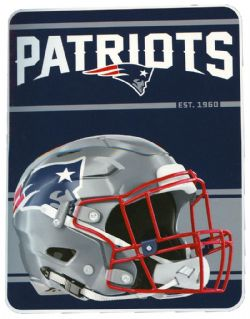 NEW ENGLAND PATRIOTS -  SUPER SOFT THROW (46