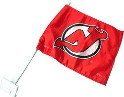 NEW JERSEY DEVILS -  CAR FLAG