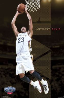 NEW ORLEANS PELICANS -  ANTHONY DAVIS POSTER (22