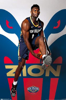 NEW ORLEANS PELICANS -  ZION WILLIAMSON (22