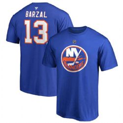 NEW YORK ISLANDERS -  MATHEW BARZAL #13 T-SHIRT - DEEP ROY