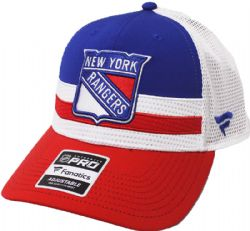 NEW YORK RANGERS -  CAP - RED/BLUE/WHITE - ADJUSTABLE