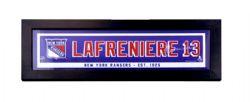 NEW YORK RANGERS -  FRAMED ART 13 -  ALEXIS LAFRENIÈRE