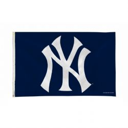 NEW YORK YANKEES -  3' X 5' HORIZONTAL FLAG