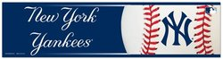 NEW YORK YANKEES -  BUMPER STICKER