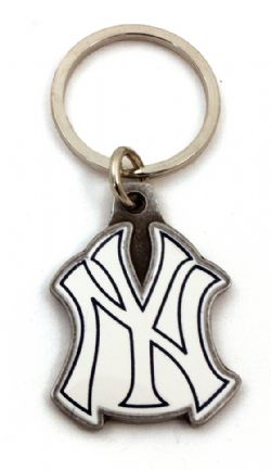 NEW YORK YANKEES -  METAL KEYCHAIN