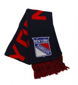 NEW YORKS RANGERS -  KNIT SCARF