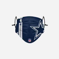 NFL -  DAK PRESCOTT - FACE MASK 4 -  DALLAS COWBOYS