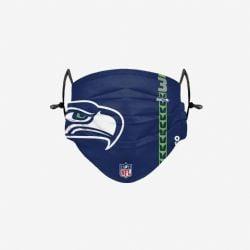 NFL -  FACE MASK - SET OF 3 -  SEATLLE SEAHAWKS
