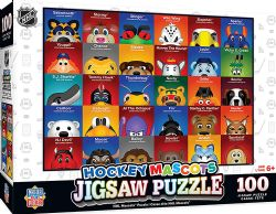 NHL -  HOCKEY MASCOTS PUZZLE (100 PIECES)