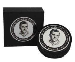 NHL LEGENDS -  TEXTURED ACRYLIC HOCKEY PUCK - PLAYER INDUCTEE, 1961 09 -  MAURICE RICHARD