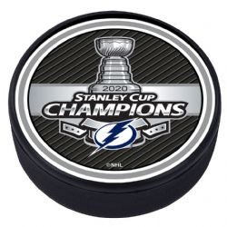 NHL -  PUCK - STANLEY CUP CHAMPIONS -  TAMPA BAY LIGHTNING