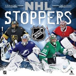 NHL STOPPERS -  2021 CALENDAR (16 MONTHS)