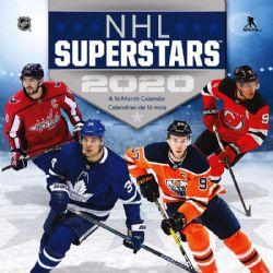 NHL -  SUPER STARS - 2020 WALL CALENDAR (16 MONTHS)