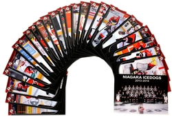 NIAGARA ICEDOGS -  (24 CARDS) -  2013-14