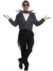 NIGHTMARE BEFORE CHRISTMAS, THE -  JACK SKELLINGTON COSTUME