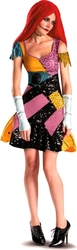 NIGHTMARE BEFORE CHRISTMAS, THE -  SALLY GLAM COSTUME