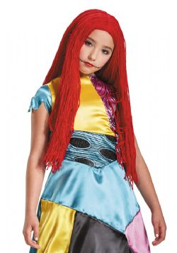 NIGHTMARE BEFORE CHRISTMAS, THE -  SALLY WIG - RED (CHILD)