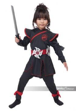 NINJA -  LIL' NINJA GIRL COSTUME (CHILD)