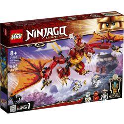 NINJAGO -  FIRE DRAGON ATTACK (563 PIECES) -  LEGACY 71753