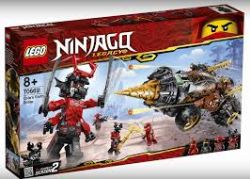 NINJAGO LEGACY -  COLE'S EARTH DRILLER (587 PIECES) 70669