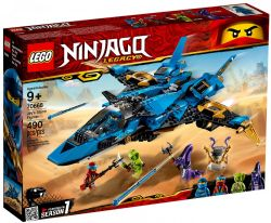 NINJAGO LEGACY -  JAY'S STORM FIGHTER (490 PIECES) 70668