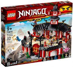 NINJAGO LEGACY -  MONASTERY OF SPINJITZU (1070 PIECES) 70670