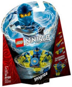 NINJAGO MASTERS OF SPINJITZU -  JAY SPINJITZU (97 PIECES) 70660