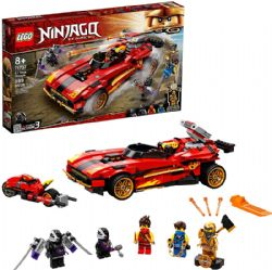 NINJAGO -  X-1 NINJA CHARGER (599 PIECES) -  LEGACY 71737